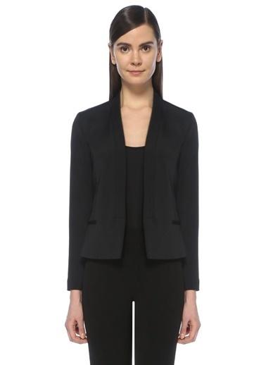 Academia Blazer Ceket Siyah